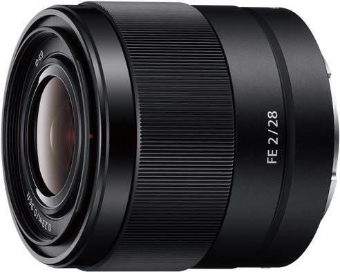 Objektiv Sony FE 28mm F2.0