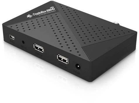 Satelitní přijímač AB Cryptobox 600HD mini