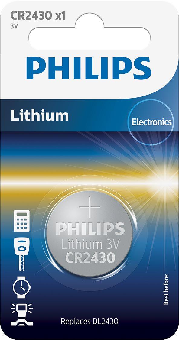 Baterie Philips CR2430 1 ks v balení