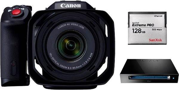Digitální kamera Canon XC10 - 128GB Reader kit