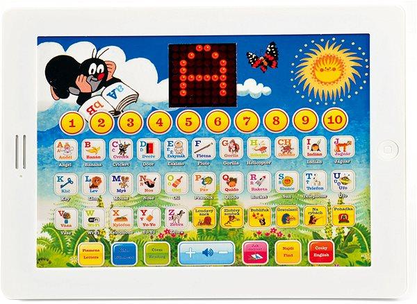 Dětský notebook Krtkův naučný tablet
