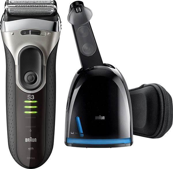 Holicí strojek BRAUN Series 3 3090 Clean&Charge