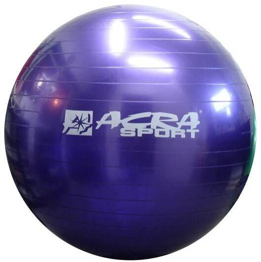 Gymnastický míč Acra Giant 90 violet