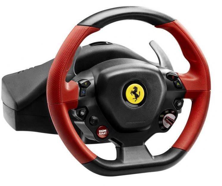 Volant Thrustmaster Ferrari 458 Spider Racing Wheel pro XBOX ONE
