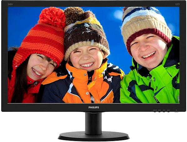 "LED monitor 24"" Philips 240V5QDAB"