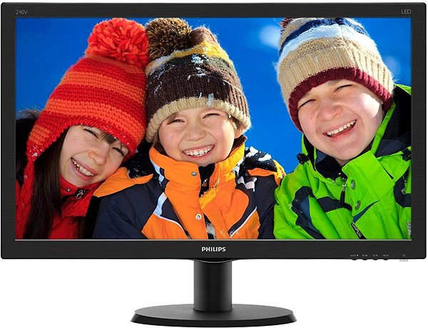 "LED monitor 24"" Philips 240V5QDSB"