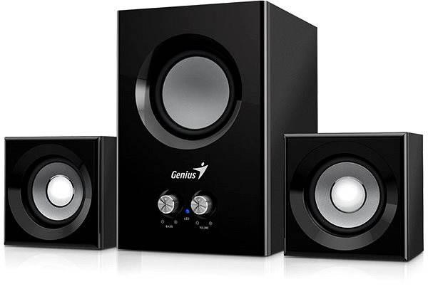 Reproduktory Genius SW-2.1 375 černé