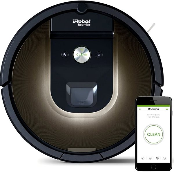 Robotický vysavač iRobot Roomba 980
