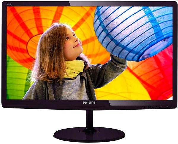 "LED monitor 21.5"" Philips 227E6LDSD"