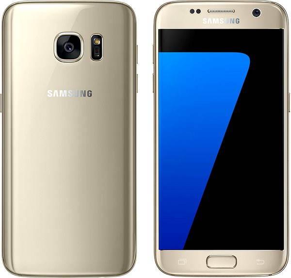 Mobilní telefon Samsung Galaxy S7 zlatý
