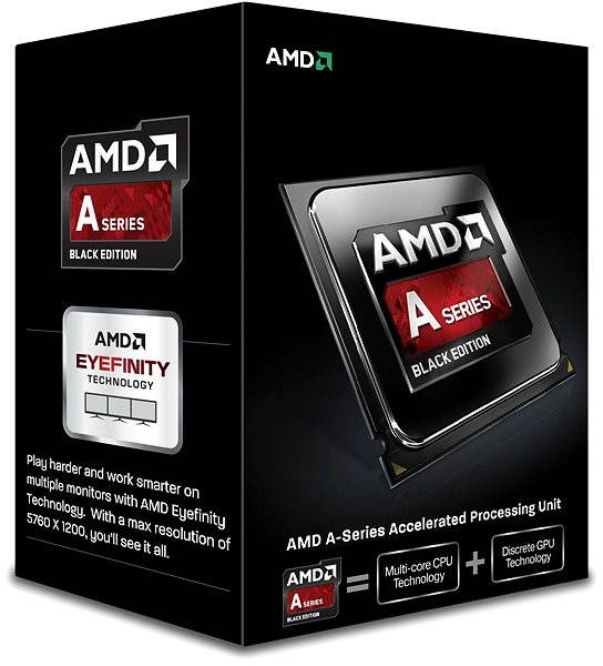 Procesor AMD A8-7650K Black Edition Low Noise Cooler