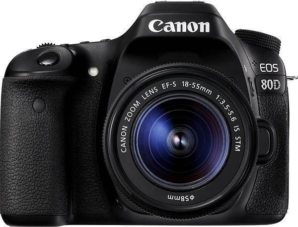Digitální zrcadlovka Canon EOS 80D + EF-S 18-55mm IS STM