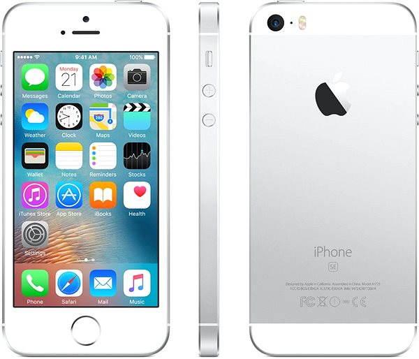 Mobilní telefon APPLE iPhone SE 16GB Stříbrný