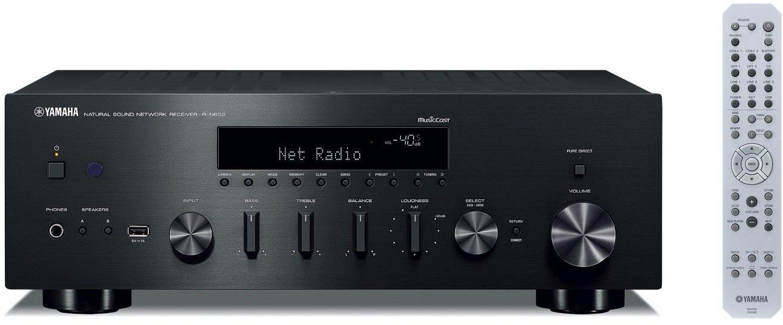 Stereo Receiver YAMAHA R-N602 černý