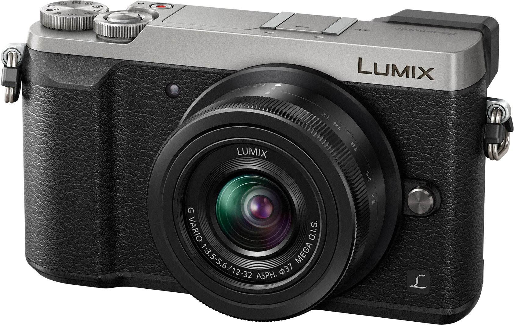 Digitální fotoaparát Panasonic LUMIX DMC-GX80 stříbrný + objektiv 12-32mm