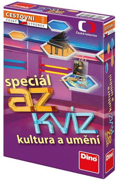 Vědomostní hra AZ Kvíz - Kultura a umění