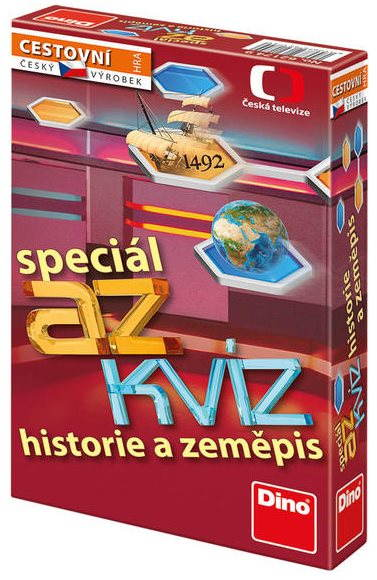 Vědomostní hra AZ Kvíz - Historie a zeměpis