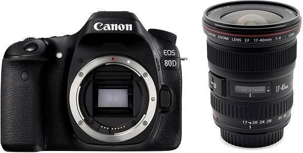 Digitální zrcadlovka Canon EOS 80D tělo + EF 17-40mm F4 L USM