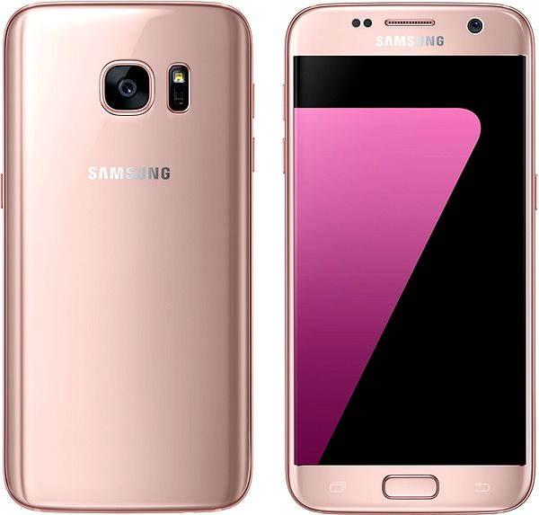 Mobilní telefon Samsung Galaxy S7 růžový