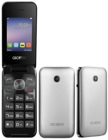 Mobilní telefon ALCATEL ONETOUCH 2051D Metal Silver