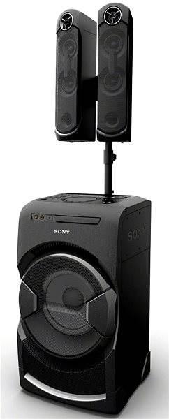 Minisystém Sony MHC-GT4D