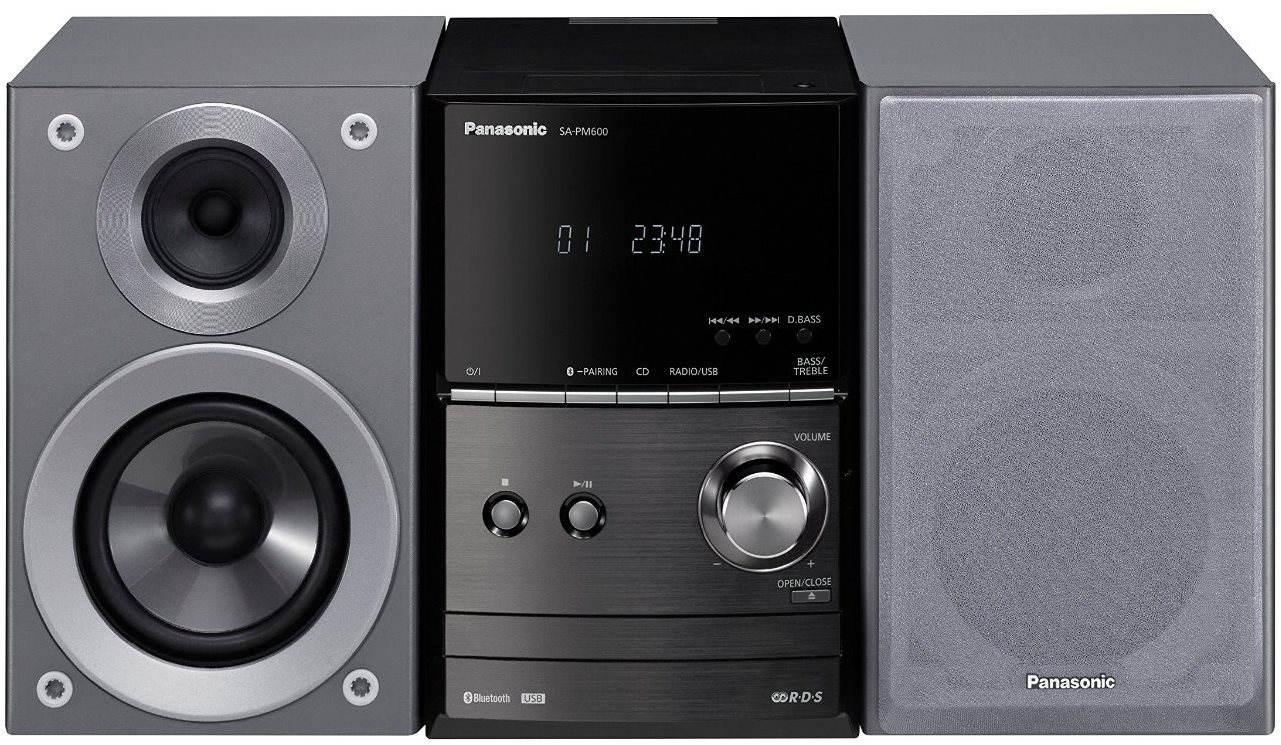 Mikrosystém s CD Panasonic SC-PM600EG-S stříbrný
