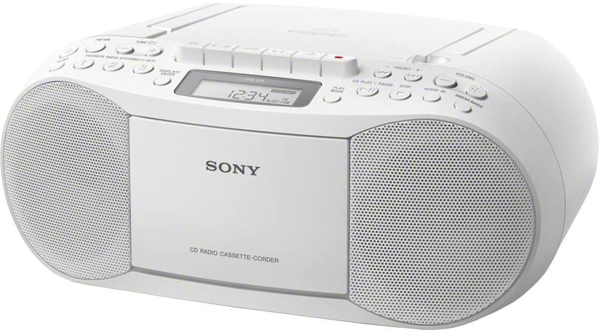 Radiomagnetofon Sony CFD-S70 bílý