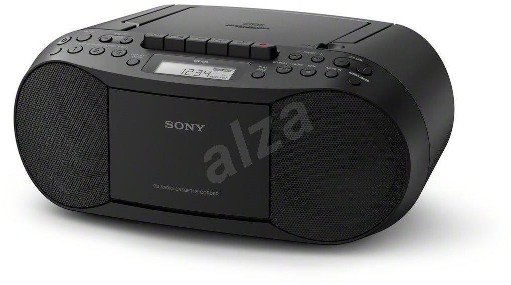 Radiomagnetofon Sony CFD-S70 černý