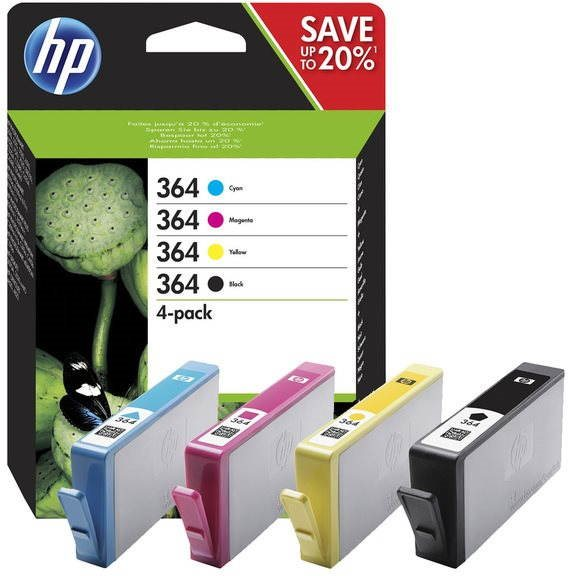 Cartridge HP N9J73AE č. 364 multipack