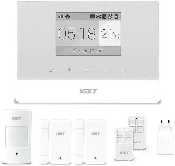Domovní alarm iGET SECURITY M3