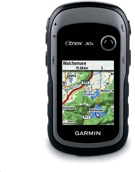 Ruční GPS navigace Garmin eTrex 30x (západní Evropa)