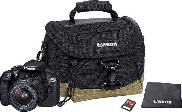 Digitální zrcadlovka Canon EOS 1300D + EF-S 18-55mm DC III Value Up Kit