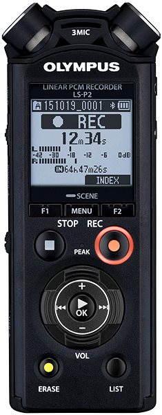Digitální diktafon Olympus LS-P2