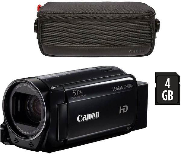 Digitální kamera Canon LEGRIA HF R706 černá - Essential kit