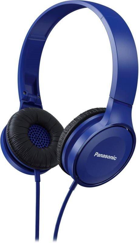 Sluchátka Panasonic RP-HF100E-A modrá
