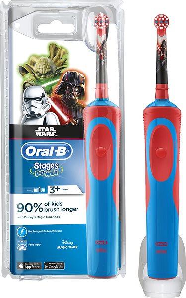 Elektrický zubní kartáček Oral-B Vitality Kids StarWars