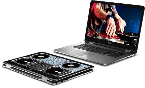 Tablet PC Dell Inspiron 17z Touch šedý