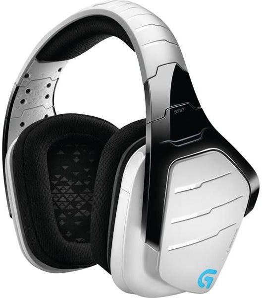 Sluchátka s mikrofonem Logitech G933 Artemis Spectrum, bílá