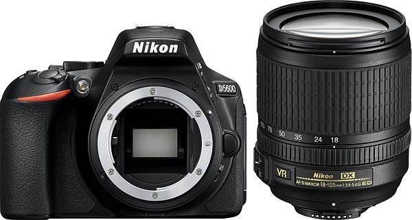 Digitální zrcadlovka Nikon D5600 + 18-105mm VR