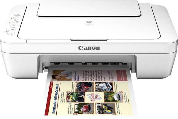 Inkoustová tiskárna Canon PIXMA MG3051 bílá