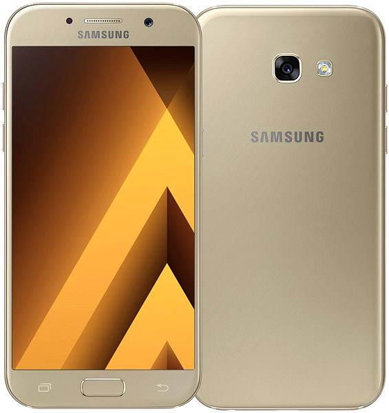 Mobilní telefon Samsung Galaxy A5 (2017) zlatý