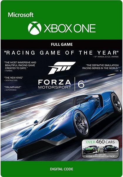 Hra pro konzoli Forza Motorsport 6 - C2C- Xbox One