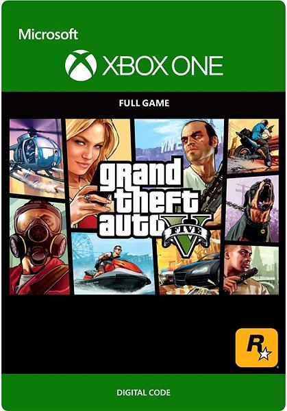 Hra pro konzoli Grand Theft Auto V - Xbox One