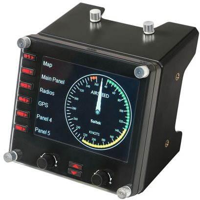 Profesionální herní ovladač Saitek Pro Flight Instrument Panel