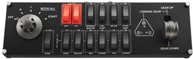 Profesionální herní ovladač Saitek Pro Flight Switch Panel