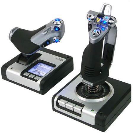 Joystick Saitek X52 Flight Control System