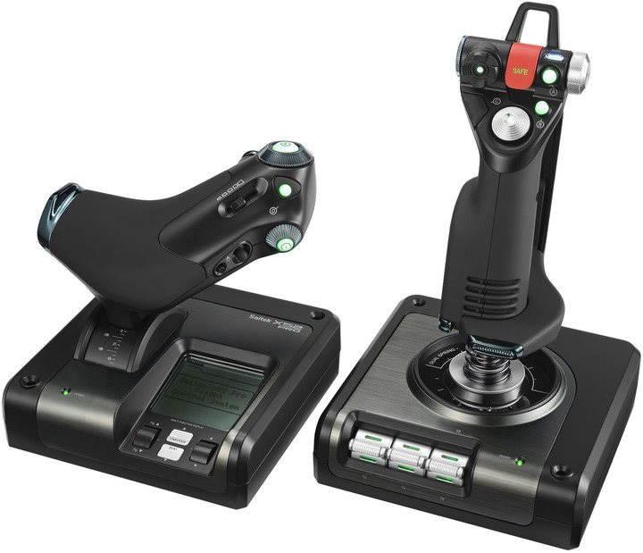 Joystick Saitek X52 Pro Flight Control System