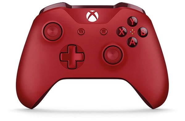 Gamepad Xbox One Wireless Controller Red