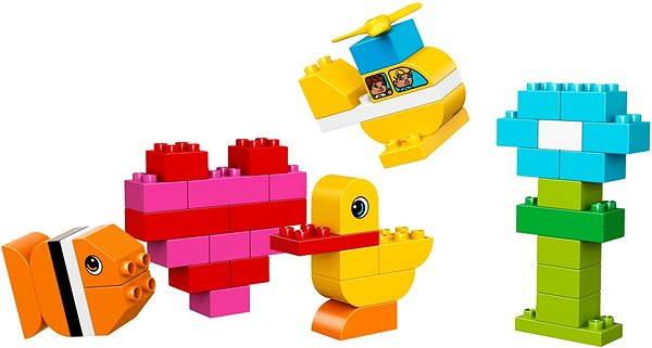 Stavebnice LEGO DUPLO My First 10848 Moje první kostky