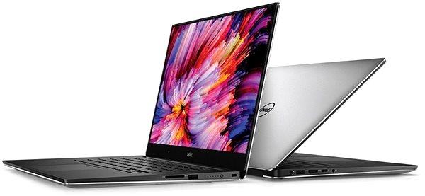 Notebook Dell XPS 15 stříbrný